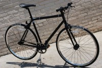 Black women's Schwinn bike, great for commuting, Kryptonite U lock included ($75)!