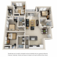 Campus Crossings Sublease May-July