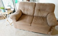 Tan Loveseat/Couch
