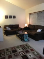 1-3 bedroom apartment for sublet from May-August