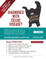 Study for adults diagnosed with Celiac Disease