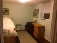 Bedroom in remodeled Basement