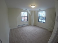 Top floor 3 bed 2 bath, South End views & Private patio!
