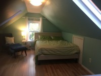 Furnished Longmeadow room rental with attached bathroom